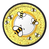 Creative Converting Baby Shower Buzz 8 Count Paper Dinner Plates by Creative Converting