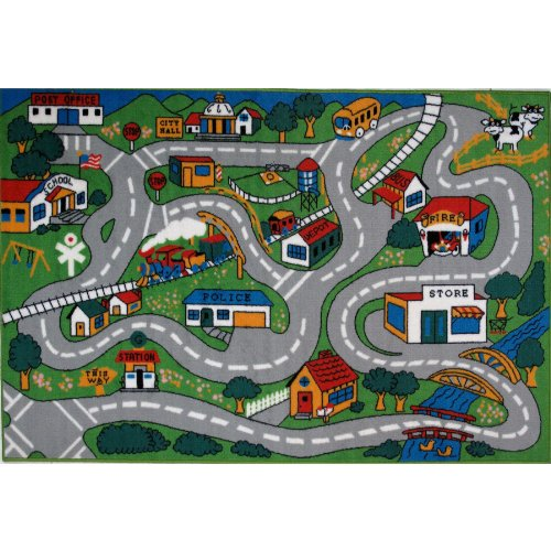 Country Fun Area Rug 5'x8'