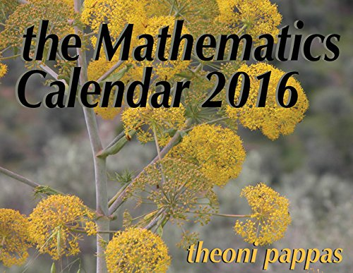 The Mathematics Calendar 2016
