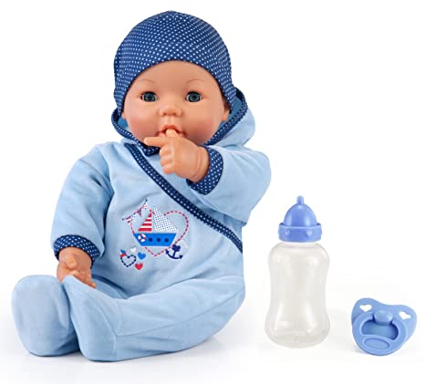 Bayer Design - 9468300 - Hello Baby - Garçon avec fonction - 46 cm