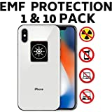 EMF Radiation Protection for CELLPHONES/Laptop - Anti EMF/EMR Radiation Sticker - Radiation Neutralizer Shield Blocker - Remove Electronic Technologies WI-FI, Bluetooth (Tamaño: 1 Pack)
