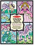Melissa & Doug Stained Glass Coloring Pad-Fairies