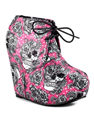 Iron Fist Bright Light Wedge - Fuchsia