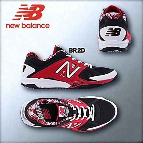 ニューバランス new balance 野球トレーニングシューズ T4040B (T4040BR2D:レッド, 27.5)