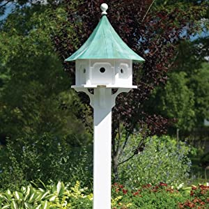 Good Directions Lazy Hill Farm Designs 51601 Cedar Brackets for Bird Houses, Large, White, Set of 4