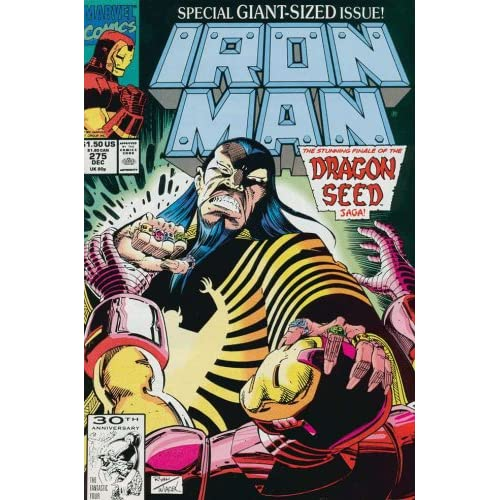 Iron Man (1st Series) #275: John Byrne, Paul Ryan: Books