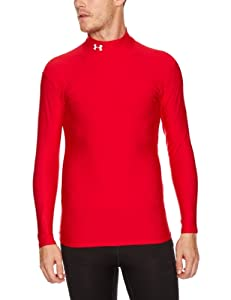 Under Armour Herren Shirt Cg Mock, rot (red), XXL