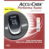 Accu Chek Check Performa Nano Glucose Monitor Sugar Level Kit with Softclix Diabetes Test