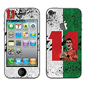 Bluegape Apple iphone 4s Gareth Bale Football Player Mobile Skin Cover, Red