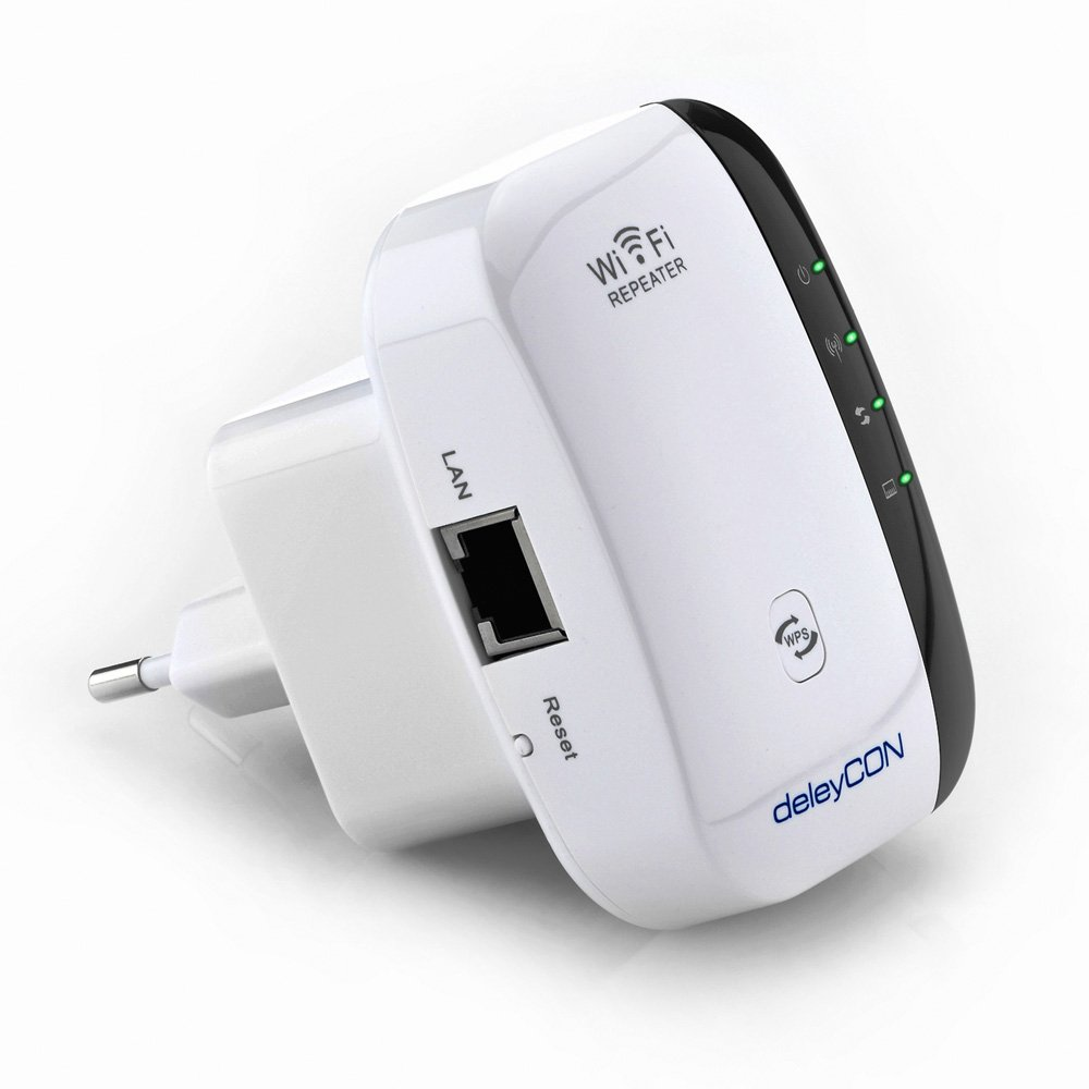 deleyCON 300 Mbit WLAN Repeater / AccessPoint