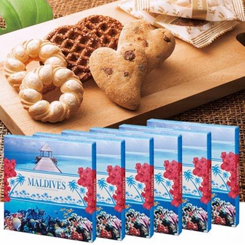 モルディブ アソートクッキー 6箱セット 【モルディブ 海外土産 輸入 スイーツ】164616