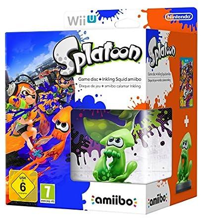 Splatoon Plus amiibo Squid bundle (Nintendo Wii U)