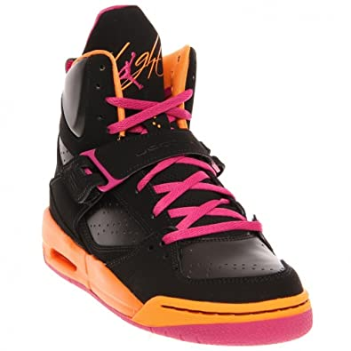 Air Jordan Black Pink Orange
