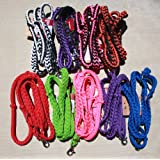 TOUGH 1 KNOTTED ROPING / BARREL REINS ★ ALL COLORS ★ SCISSOR SNAP & CONWAY BUCKLE