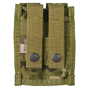 Flyye Double 9mm Magazine Poche MOLLE Multicam