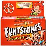 Flintstones Children's Complete Multivitamin Chewable Tablets, 60-Count Bottles (Pack of 3)