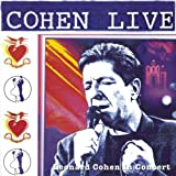 Disco de Leonard Cohen - Cohen Live [Audio CD] Cohen, Leonard (Anverso)