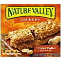 Nature Valley  Peanut Butter Crunchy Granola Bars, 12 Count Box