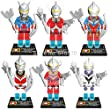 Ultraman 3d Building Blocks Bricks Cartoon Figures Super Heroes Without Original Boxes