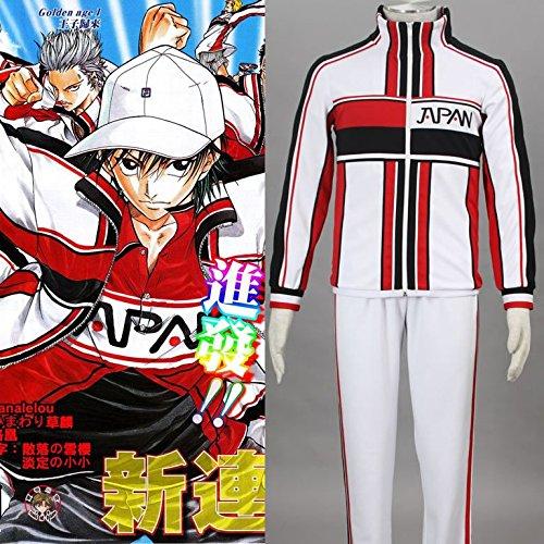 XZX Cosplay Anime Bekleidung/der Prinz von Tennis/Japan Team Tennis Winter Kleidung , l