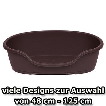 hundekorb kunststoff 110 cm braun haustier. Black Bedroom Furniture Sets. Home Design Ideas