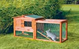 TRIXIE-Pet-Products-Rabbit-Hutch-with-Outdoor-Run