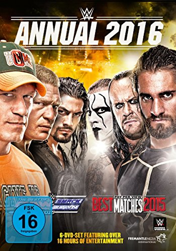 WWE - Annual 2016 [6 DVDs]