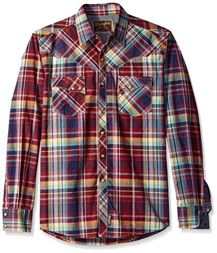 wrangler-mens-retro-western-long-sleeve-woven-shirt-burgundy-navy-large