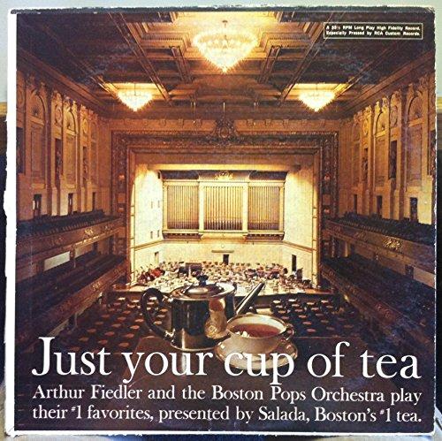 Salada Tea Promo Arthur Fiedler Just Your Cup Of Tea Vinyl Record