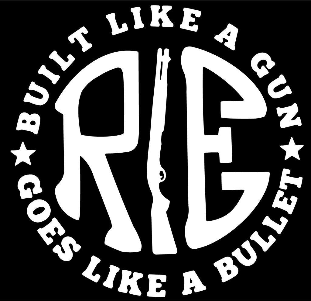 Bike sticker design online - Onlinemart Pack Of 2 Re Like A Gun White Sticker Decal Sticker For Royal Enfield Bullet Bike Sticker 11 5 Cm X 11 5 Cm