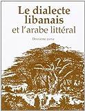Le dialecte libanais