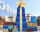 Valentine Ghirardelli Tower Gift Basket