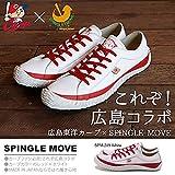 SPINGLE MOVE(スピングルムーブ) スニーカー 広島東洋カープ 日本製 レザーシューズ 本革 天然皮革 紳士靴 メンズ spm-carp