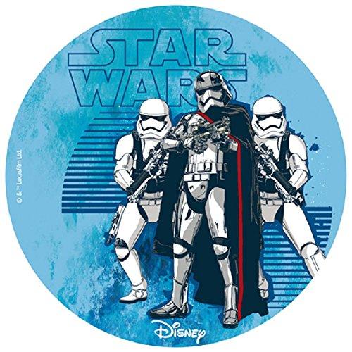 Disco decorativo per torte Stormtrooper