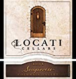 2008 Locati Cellars Sangiovese 750 mL
