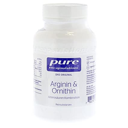 Arginin-Ornithin Kps. 90 Stuck (bisher Growth-Hormon-Support) pure encapsulations