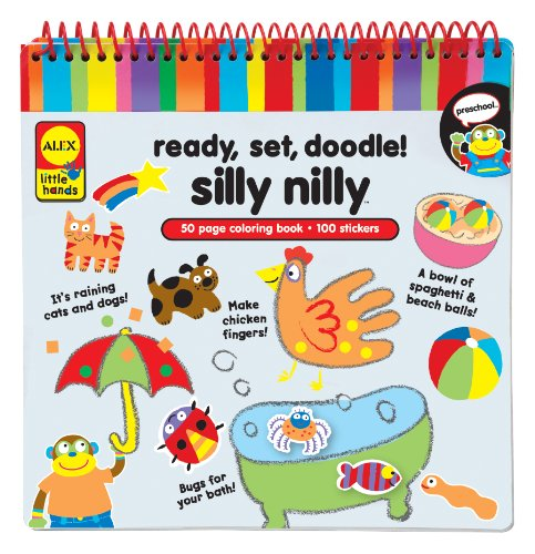 ALEX Toys Little Hands Ready Set Doodle Silly Nilly - 1