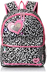Skechers Big Girls'  Cheetah Puff Metallic Backpack