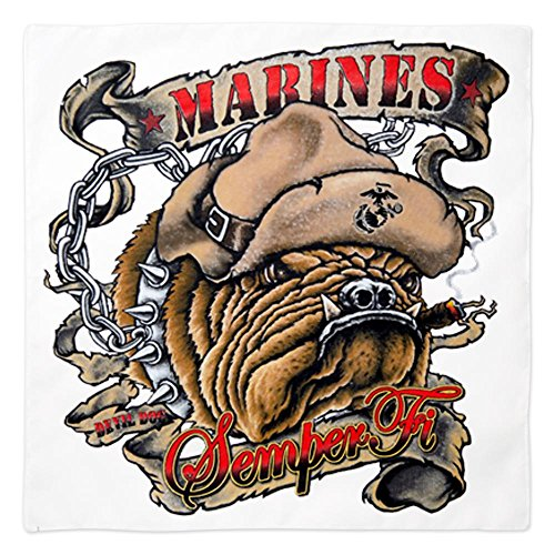 Royal Lion Bandana Marines Semper Fi Devil Dog Smoking