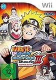 Nintendo WII Naruto Shippuden Clash of Ninja Revolution 3