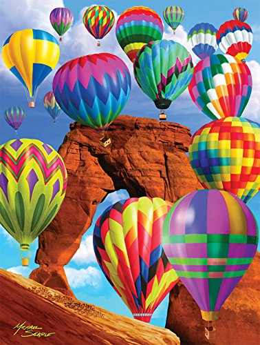 Balloon Blast a 500-Piece Jigsaw Puzzle by Sunsout Inc.