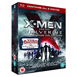X-Man & The Wolverine Adamantium Collection [Blu-ray]