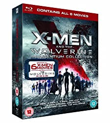 X-Men And The Wolverine Adamantium Collection (Includes The Wolverine 2D & 3D Blu Ray) [Blu-ray]