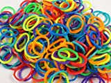 1200 Count Rubber Band Refills for Rainbow Looms - Assorted Colors