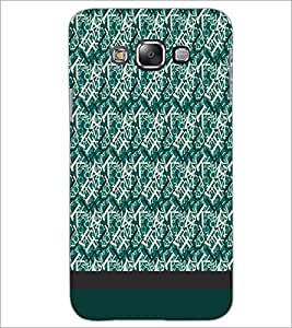 PrintDhaba Typography D-1928 Back Case Cover for SAMSUNG GALAXY E7 (Multi-Coloured)