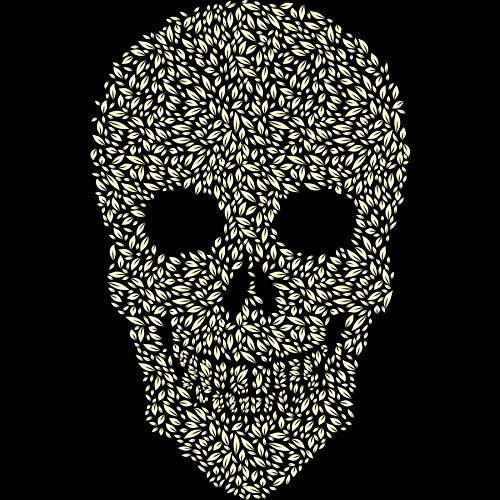Leaf Skull Women's Graphic Tank Top - Design By Humans skull model cmam skull12 22parts adult humans skull model