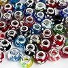 20pc lot Argent Lampwork Murano Glass Beads Mix européennes - Compatible avec Pandora, Chamilia, Biagi, Trolls par Boolavard