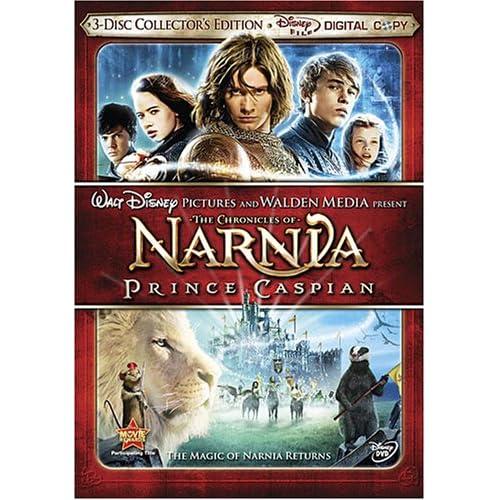 Le Monde de Narnia : Le Prince Caspian - Ed. Spéciale 3 DVD 61vmcV3ctzL._SS500_
