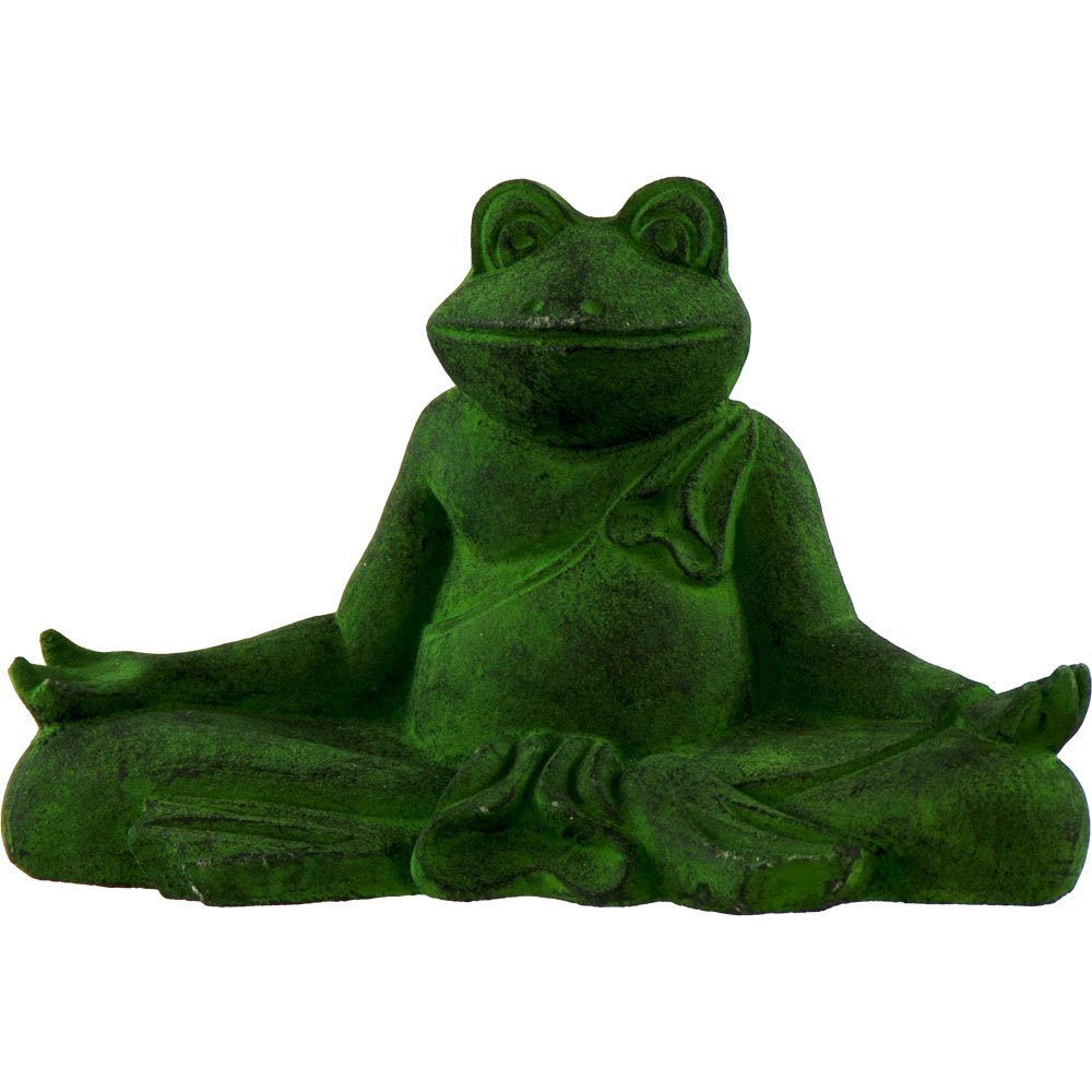 Beautiful Yoga Frogs Meditating Frog Statues For Decoration