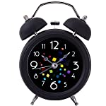 Twin Bell Alarm Clock,Drillpro 4